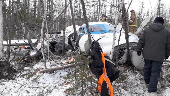 Пилоты разбившегося у Нелькана L-410 сделали все, что от них зависело