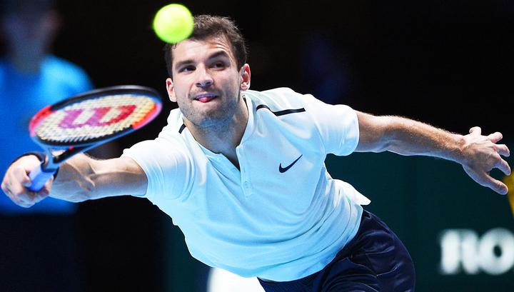 Болгарин Димитров досрочно стал полуфиналистом ATP Finals