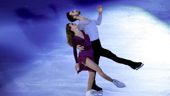 Фигурное катание. Пападакис и Сизерон выиграли короткую программу у танцоров