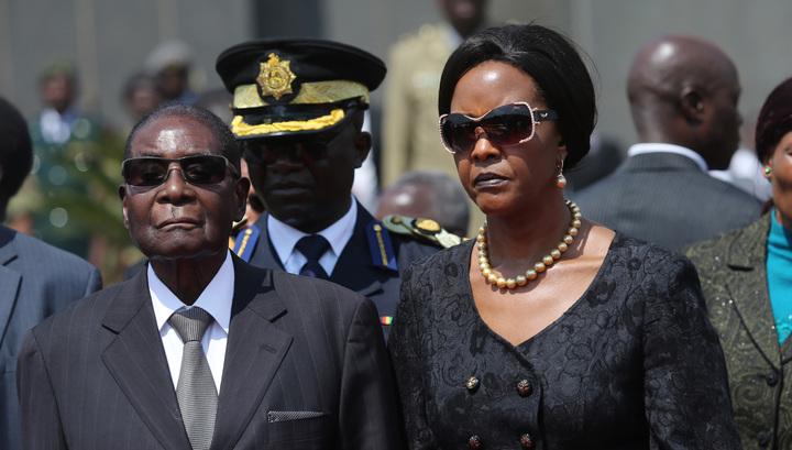 Правящая партия Зимбабве отстранит президента Роберта Мугабе от должности