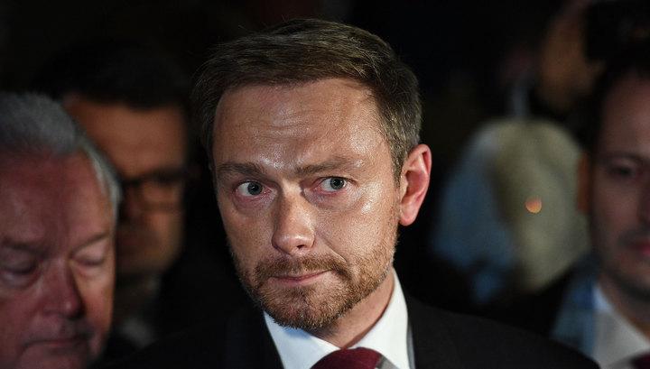 Либералы сообщили о провале переговоров по формированию правительства в Германии