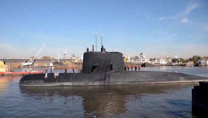 В поисках пропавшей субмарины