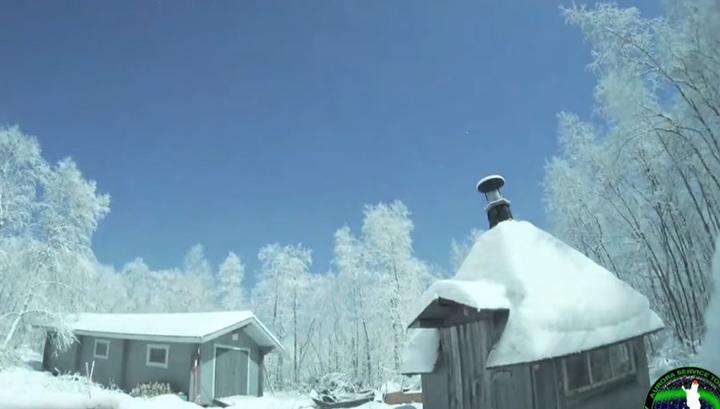 В Финляндии запечатлели