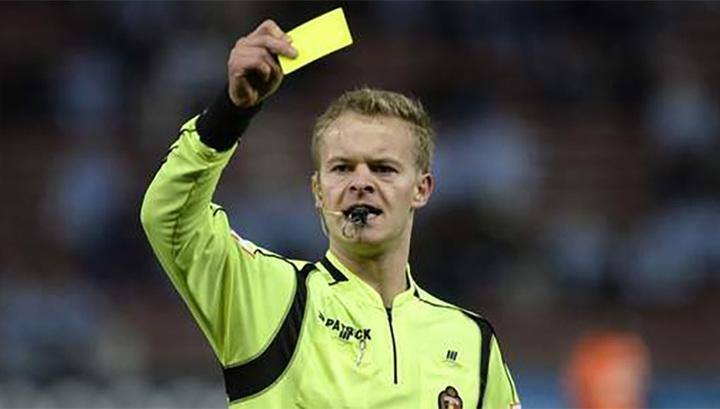 Бельгиец Фертентен отработает на матче Лиги Европы