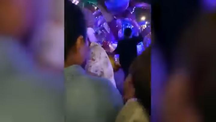 Опубликовано видео аварии на аттракционе в Таиланде