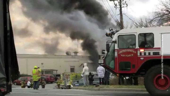Взрывы и пожар на косметической фабрике в США: около 40 человек пострадали