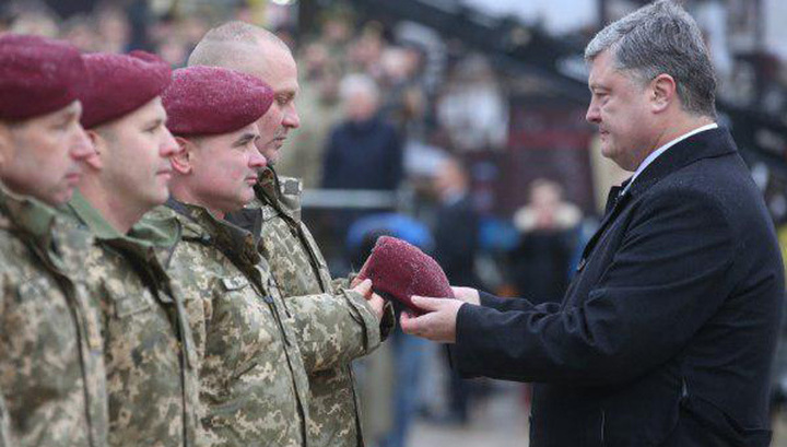 Натовские береты цвета крови: украинские десантники стали штурмовиками