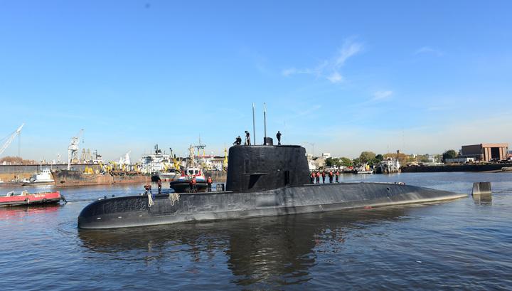 Защитный корпус подлодки San Juan полностью деформирован взрывом
