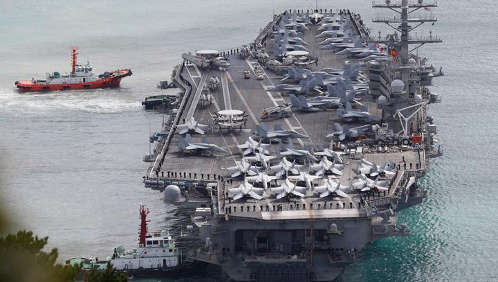 Самолет ВМС США рухнул в воды Филиппинского моря