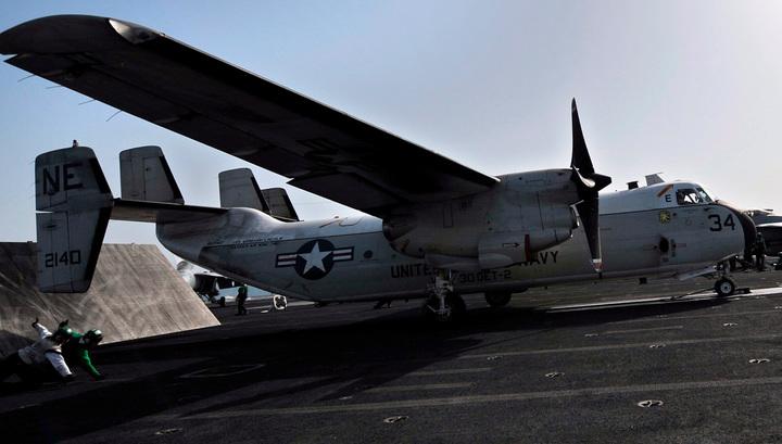 У Окинавы обнаружены 8 из 11 человек, летевших в упавшем самолете