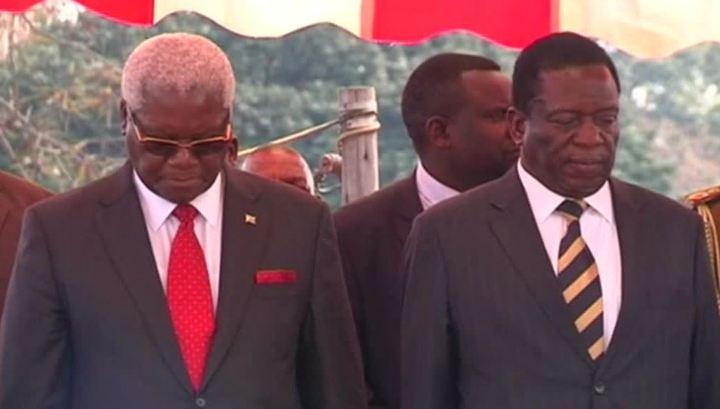 Мнангагва выдвинут на пост президента Зимбабве