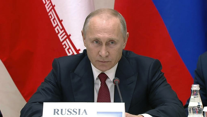 Путин предложил Эрдогану и Рухани подумать о возрождении Сирии