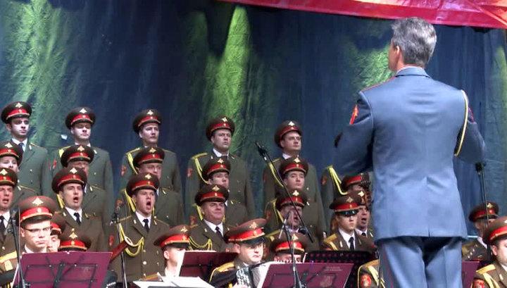 Ансамбль Александрова начал гастроли в Польше