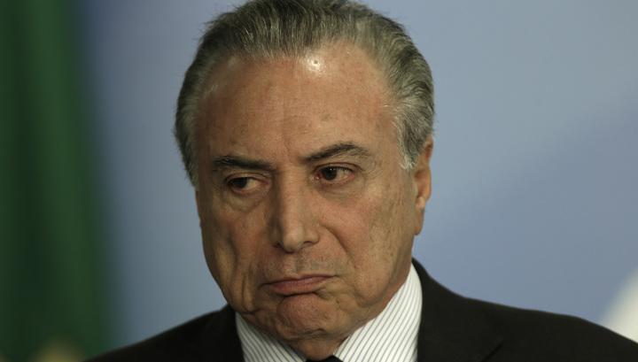 Президент Бразилии вновь обвинен в коррупции