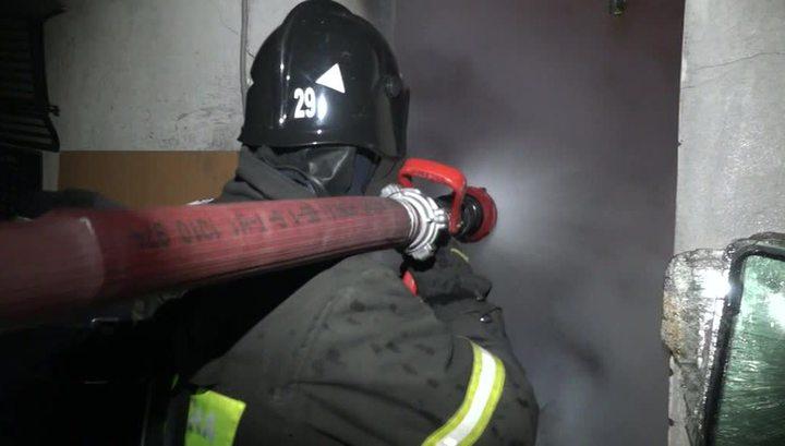 Пожар в здании ГСУ СК по Подмосковью в центре столицы потушен