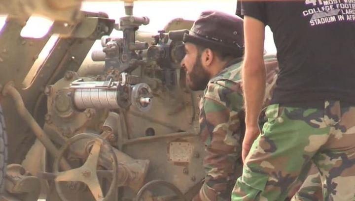 Российские военные в Сирии призвали прекратить бои в Восточной Гуте