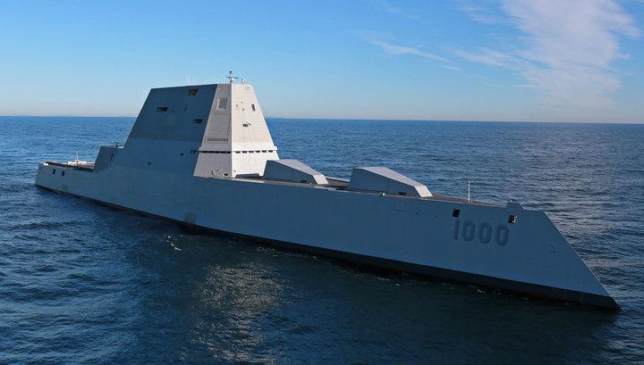 Кремлю такое инеснилось: США спустили наводу собственный «эсминец будущего»