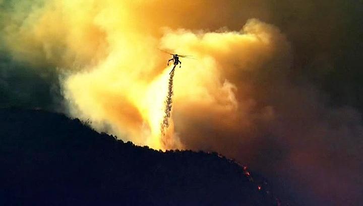 Аргентинская Ла-Пампа охвачена огнем
