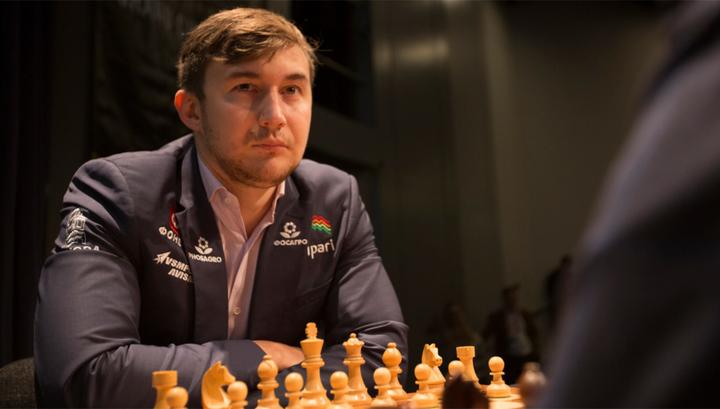 Карякин завершил ничьей партию против Лижэна на турнире претендентов