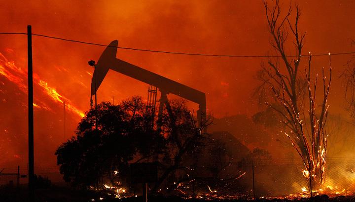 Посольство России в США соболезнует жителям охваченной огнем Калифорнии