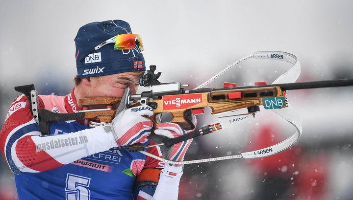 Норвежец Л'Абе-Лунд стал самым быстрым на этапе в Холменколене