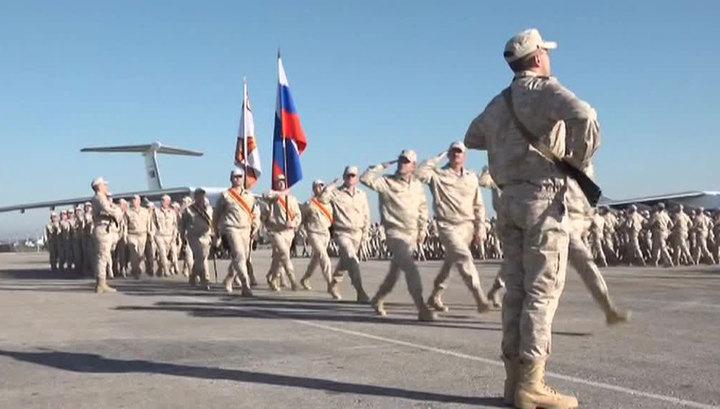 Владимир Путин: российские военные возвращаются из Сирии с победой