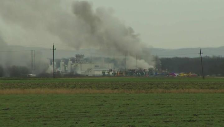 Взрыв вывел из строя крупнейший газовый хаб в Австрии: первые версии