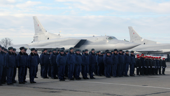 ИГИЛ разбито, можно лететь домой. Ту-22М3 вернулись на свой родной аэродром