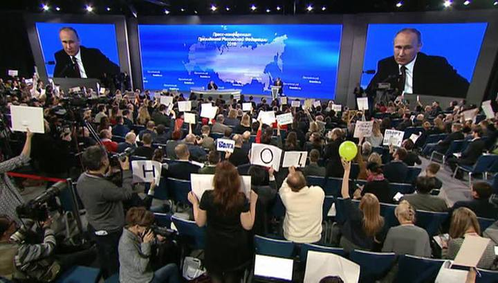 Журналисты хотят спросить Путина про дороги, лесничества и иностранных агентов
