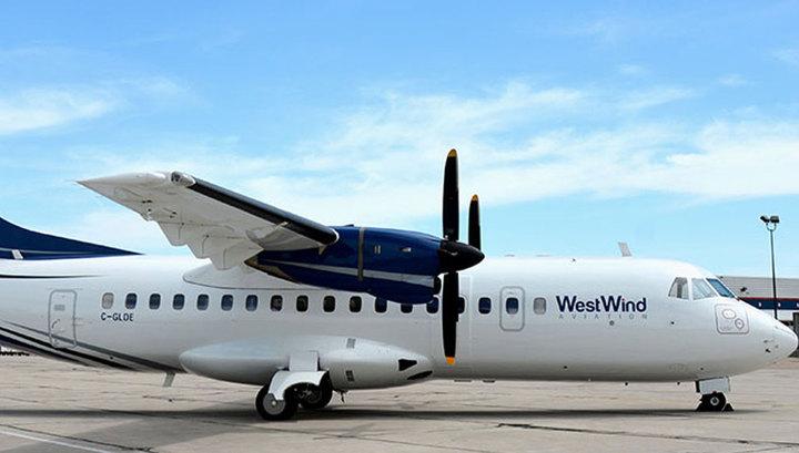 В Канаде рухнул пассажирский самолет