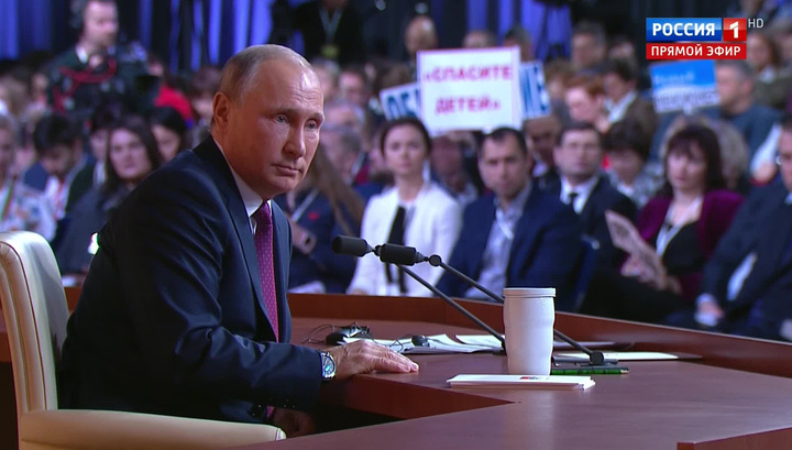 Владимир Путин: скандал с допингом имеет политические корни