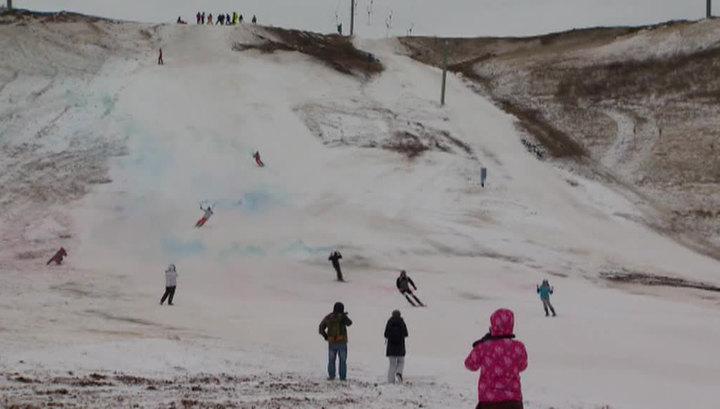 В Оренбургской области власти помогли пенсионеру достроить горнолыжный комплекс