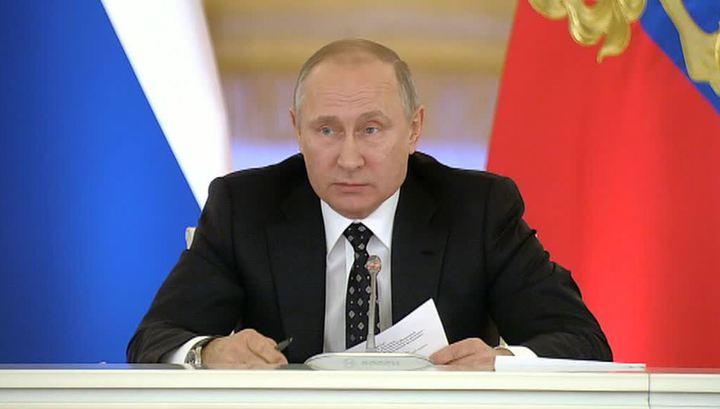 """Путин анонсировал новое издание """"майских указов"""""""