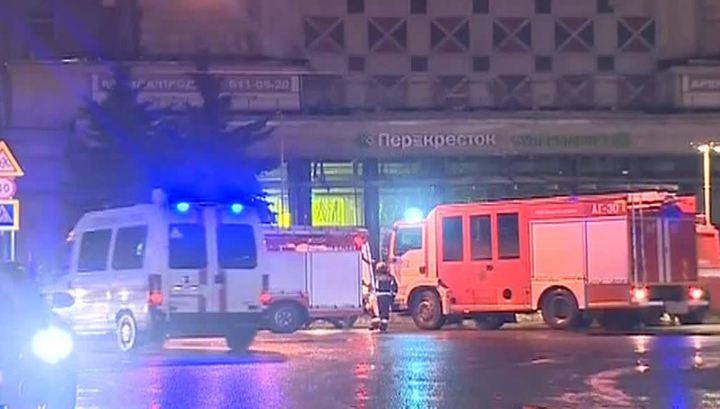 Взрывное устройство в Петербурге начинили поражающими элементами