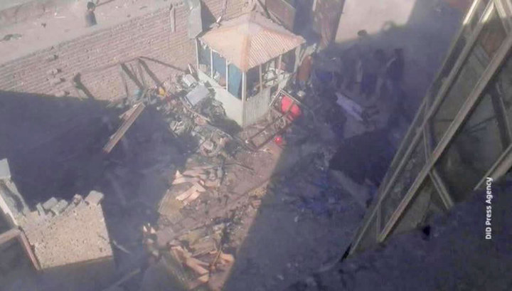 Смертник взорвался у здания, где отмечали годовщину ввода советских войск в Афганистан