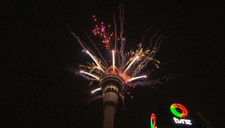 Новый год после островов Рождества встречает Новая Зеландия