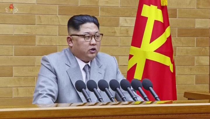Ким Чен Ын заявил, что ядерная кнопка постоянно находится у него на столе