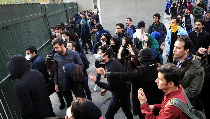 Иран направил жалобу в ООН, обвинив США в подстрекательстве к беспорядкам