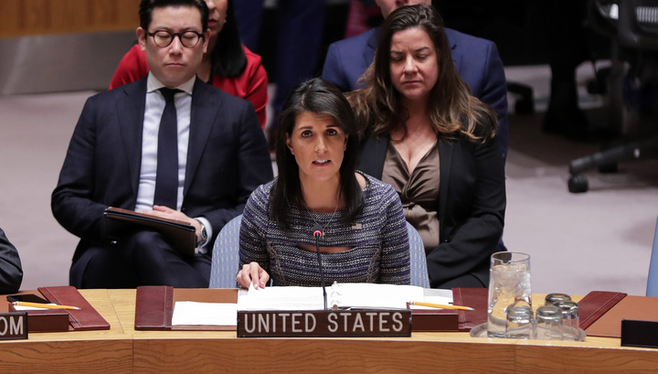 Голосование в СБ ООН: США остались в одиночестве