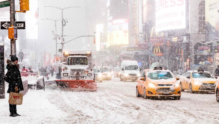 Американские снегопады убили 19 человек
