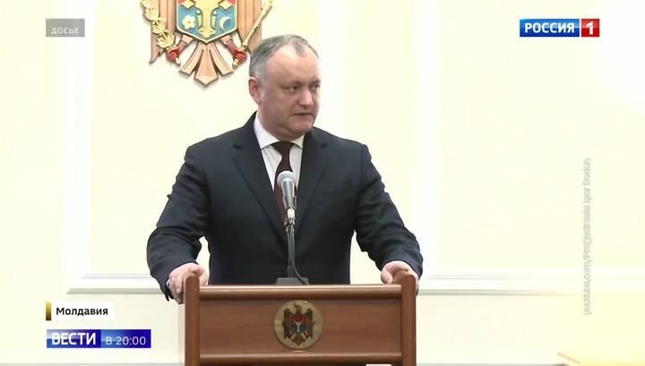Додона отстранили, чтобы запретить в Молдавии российские новости