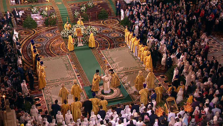 Рождественское богослужение в Храме Христа Спасителя продлится дольше обычного