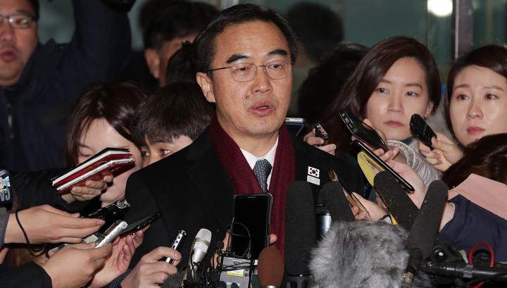 """Межкорейские переговоры стартовали в """"Доме мира"""""""