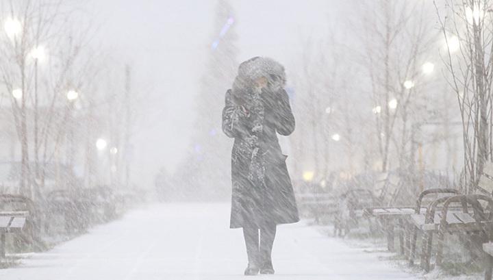 Метель и лед: в Москве продлен желтый уровень опасности