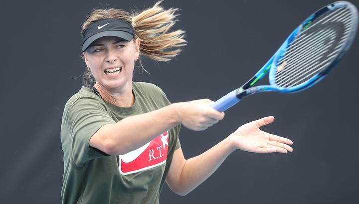 Веснина и Шарапова взяли успешный старт на Australian Open