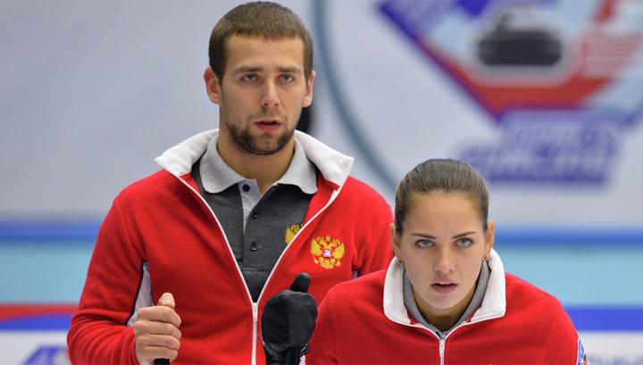 Российский дуэт выиграл предолимпийский турнир по керлингу в миксте