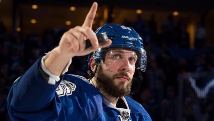 Кучеров первым в текущем сезоне НХЛ набрал 90 очков