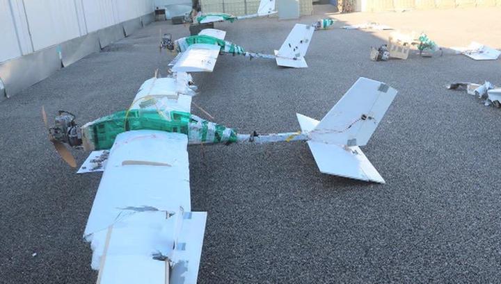 Атака дронов: Минобороны России определило место запуска