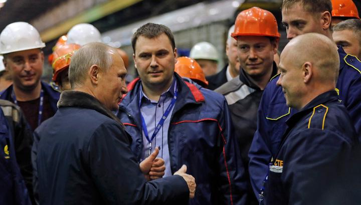 Путин: состояние экономики позволяет уравнять МРОТ и прожиточный минимум на полгода раньше