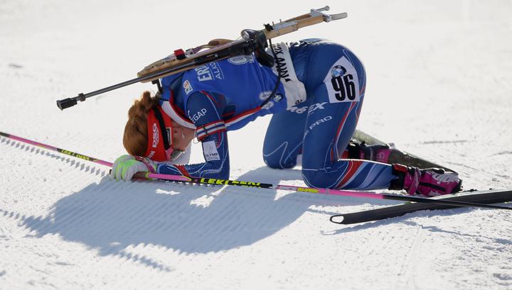Биатлонистка Коукалова подтвердила пропуск Олимпиады